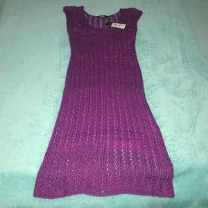 Ralph Lauren XS Knit Dress NEW Slip Built In Soft